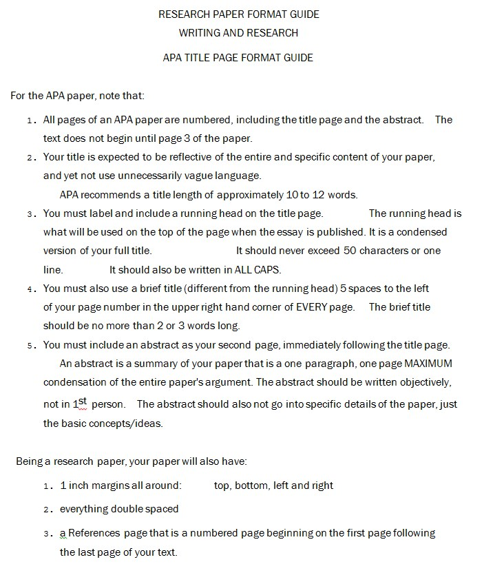 APA Citation Cover Sheet