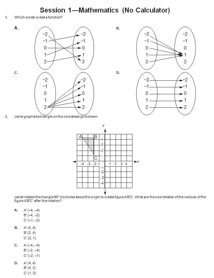 Common Core Practice Sheet Template