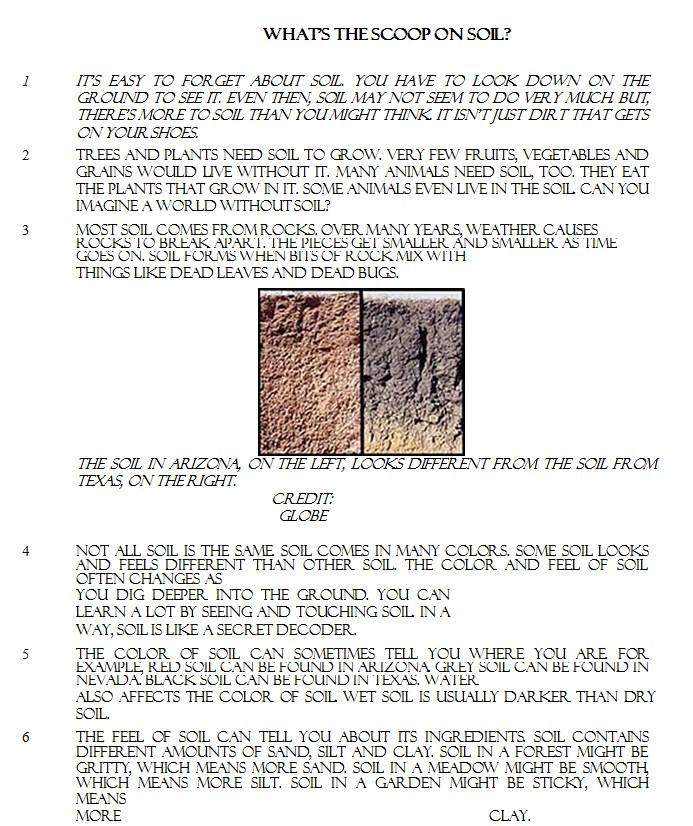 Ela Common Core Practice Sheet PDF Format