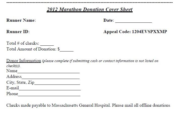 Marthan Donation Blank Cover Sheet