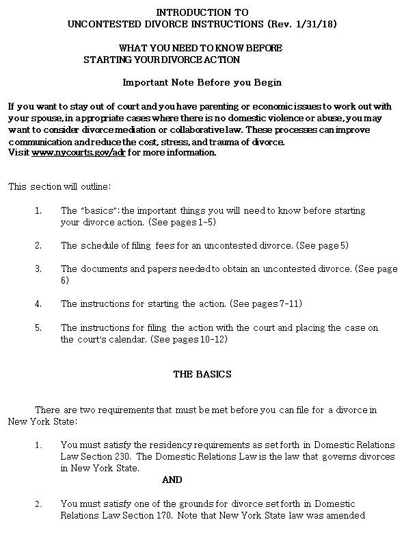 Divorce Packet Instructions5