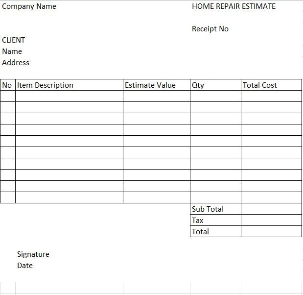 Home Repair Estimate 440x622 1
