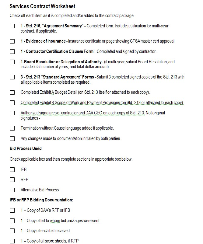 Simple Employment Contract Worksheet