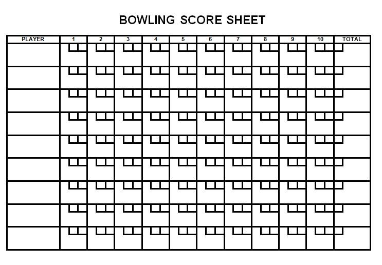 Bowling Sheet