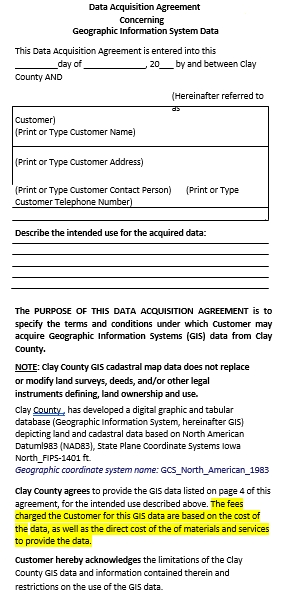 Data Acquisition Agreement Template