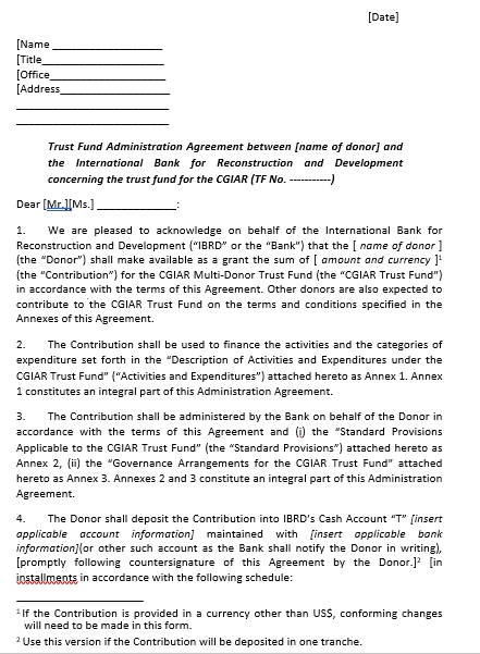 Fund Administration Agreement
