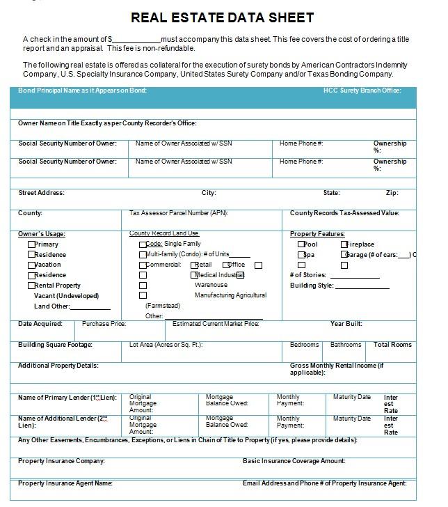Tokio Marine Real Estate Datasheet