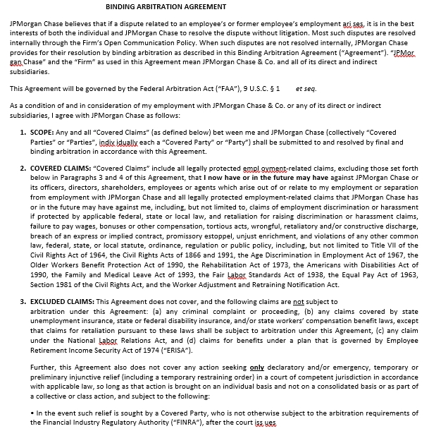 Binding Arbitration Agreement Template