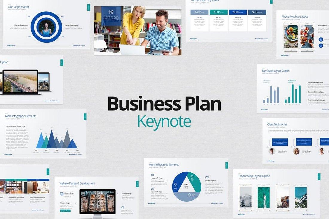 Business Plan Keynote Template1