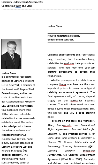 Celebrity Confidentiality Agreement for Agent