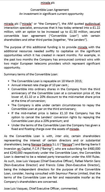 Convertible Investment Agreement Template