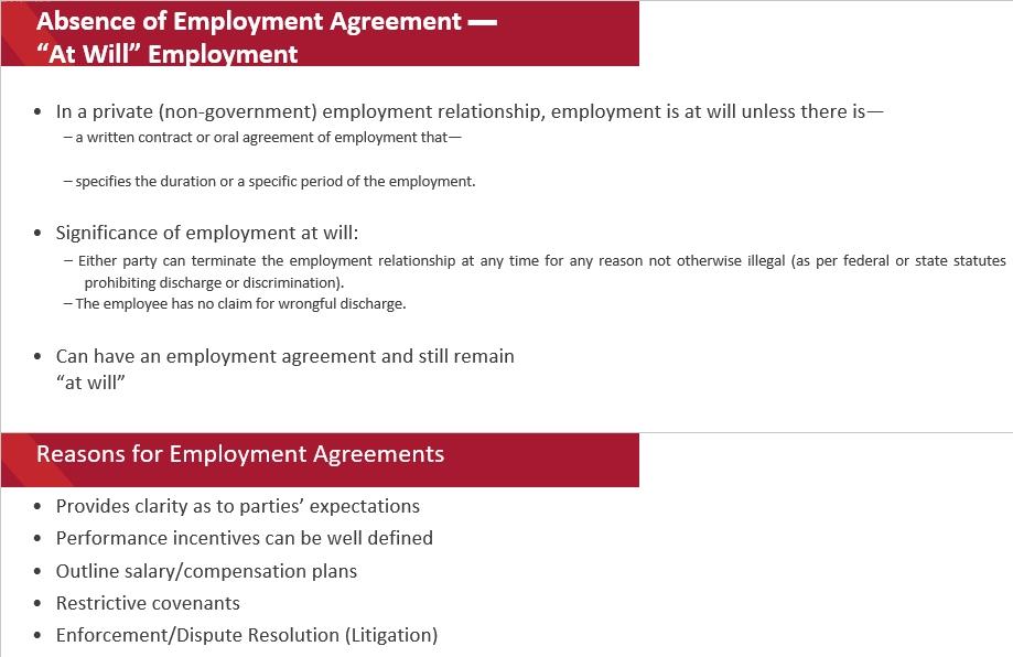Draft Employment Separation Agreement Template