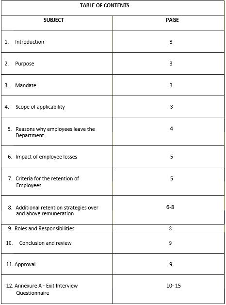 Employee Retention Agreement Template 1