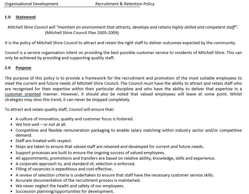 Employee Retention Agreement Template 6