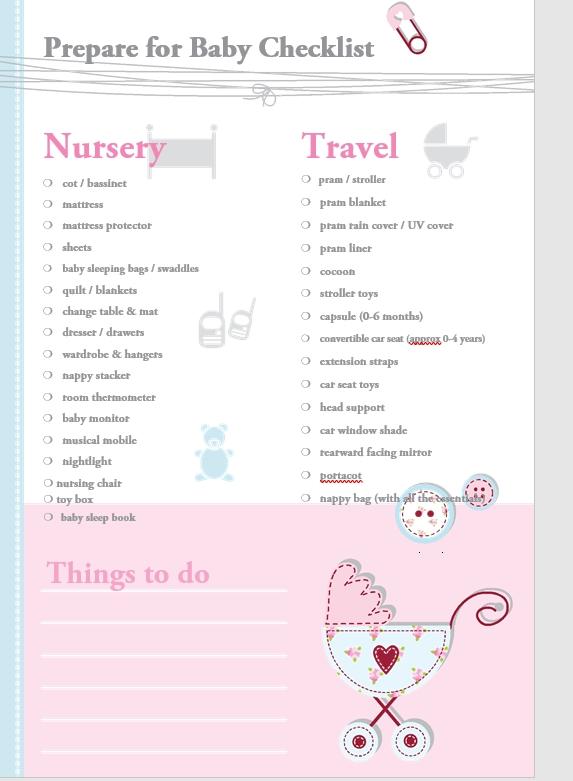 Essential Baby Registry Checklist1