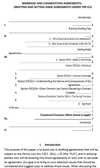 Marriage Cohabitation Agreement Template