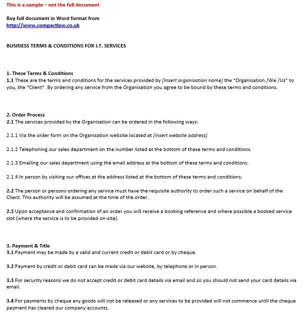 Pc Installation Repair Maintenance Agreement