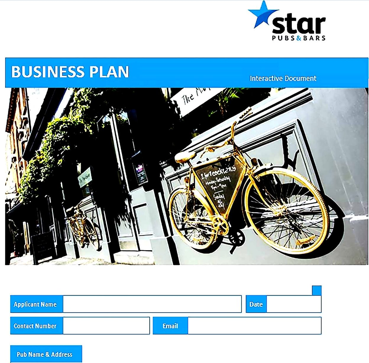 Pubs Bars Business Plan Template