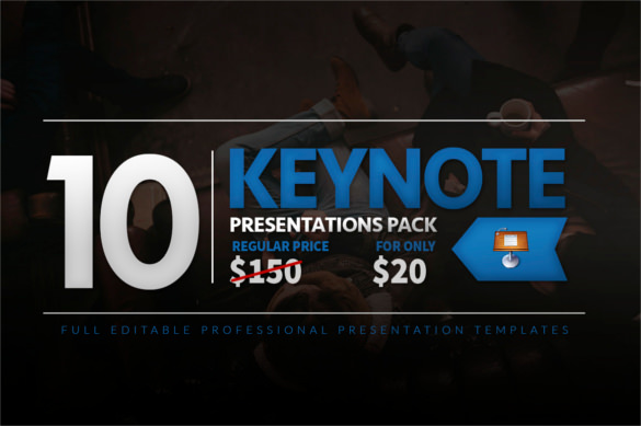 Sample Template 10 Keynote Presentation Pack Format