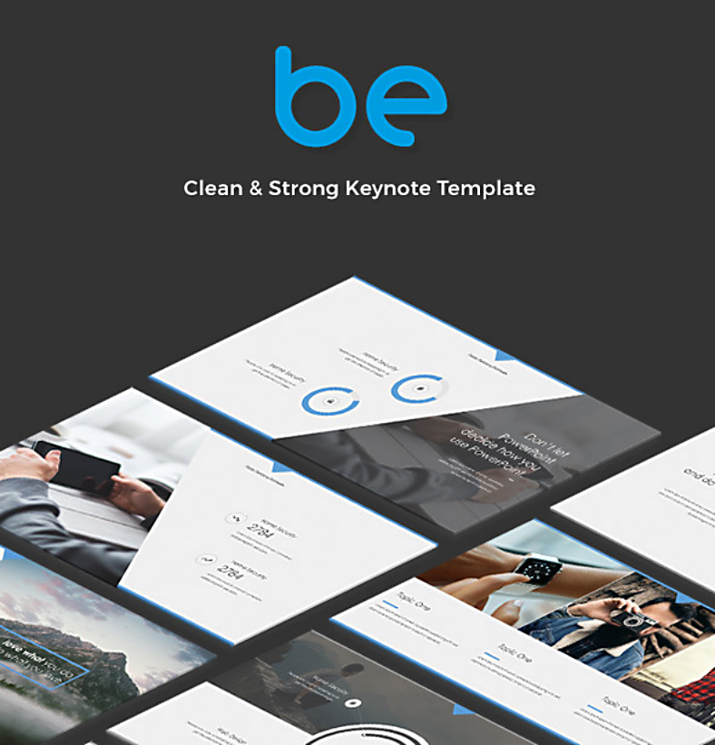 Sample Template Be Minimal Keynote 788x821 1