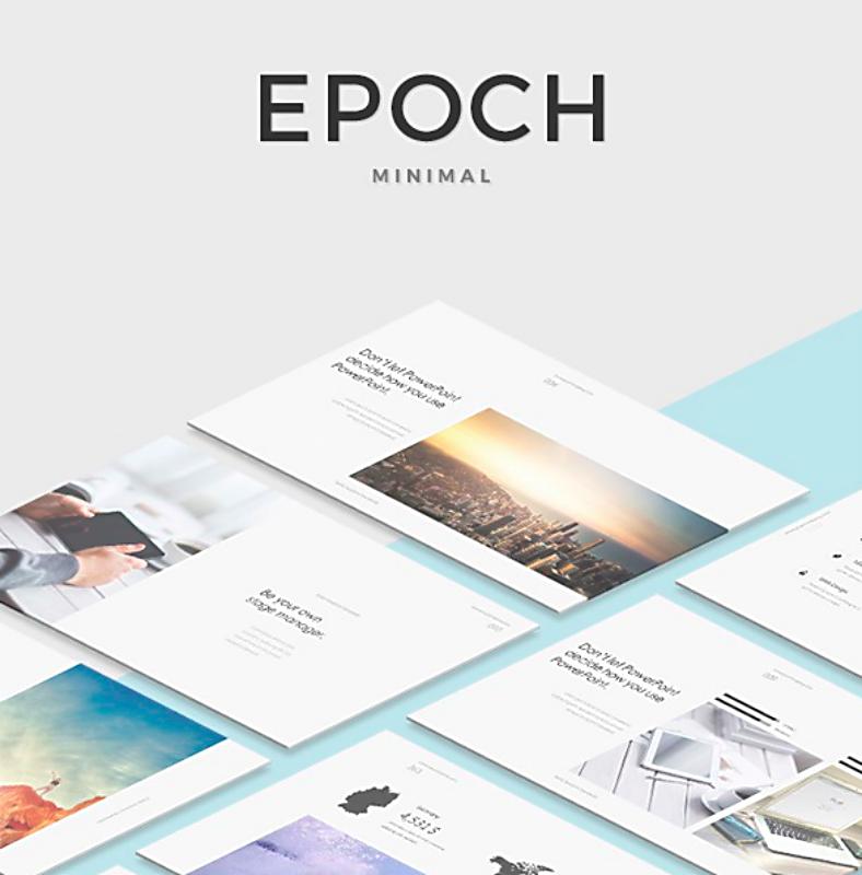 Sample Template Epoch Minimal Keynote 788x800 1