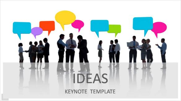 Sample Template IDEAS Keynote Presentation KEY