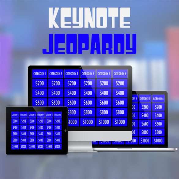 Sample Template Instructions Keynote Jeopardy