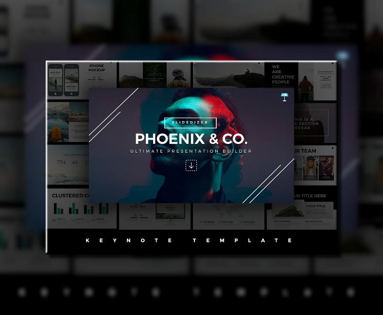 Sample Template Phoenix Minimal Keynote 788x650 1