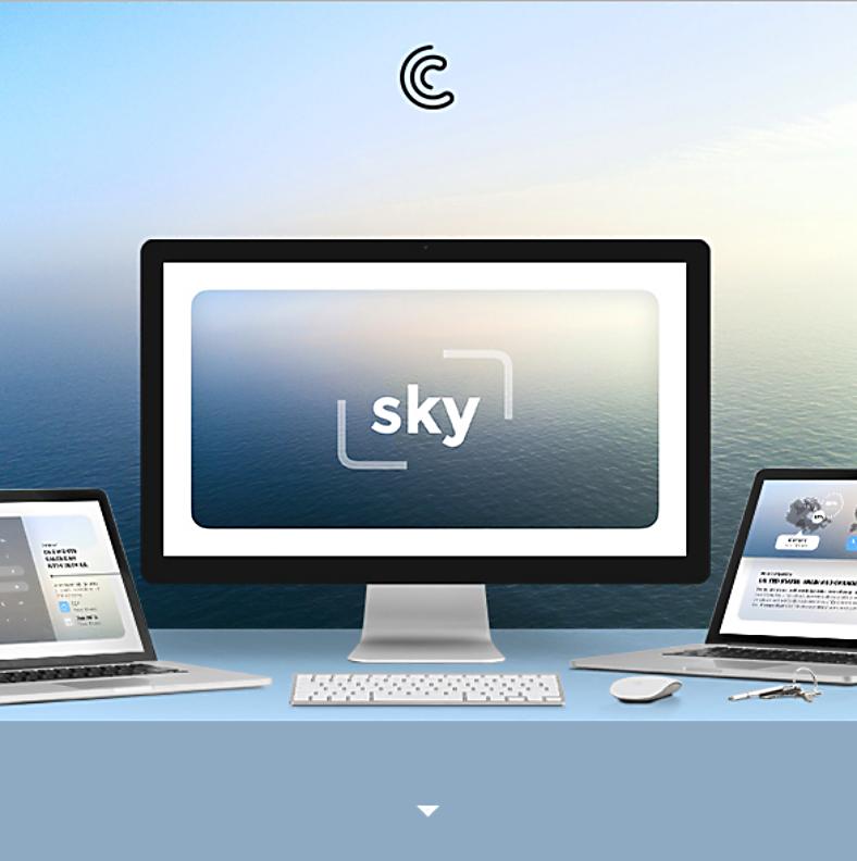 Sample Template Sky Minimal Keynote 788x792 1