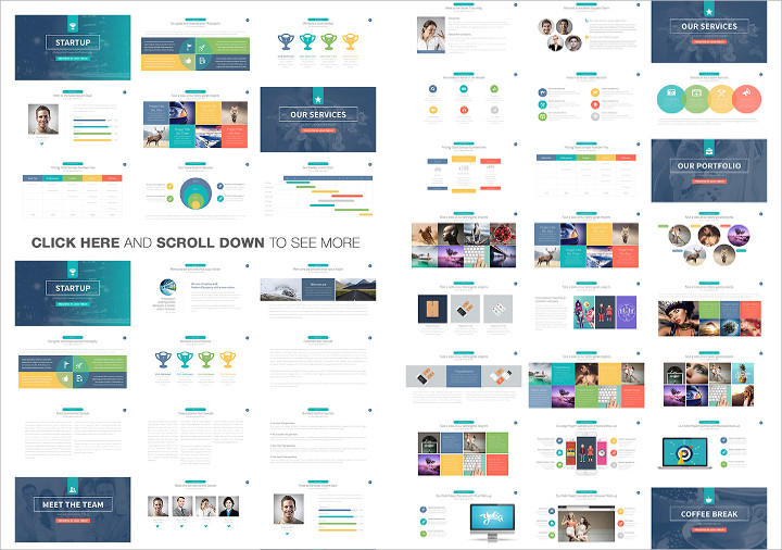 Sample Template Startup Powerpoint Presentation 1