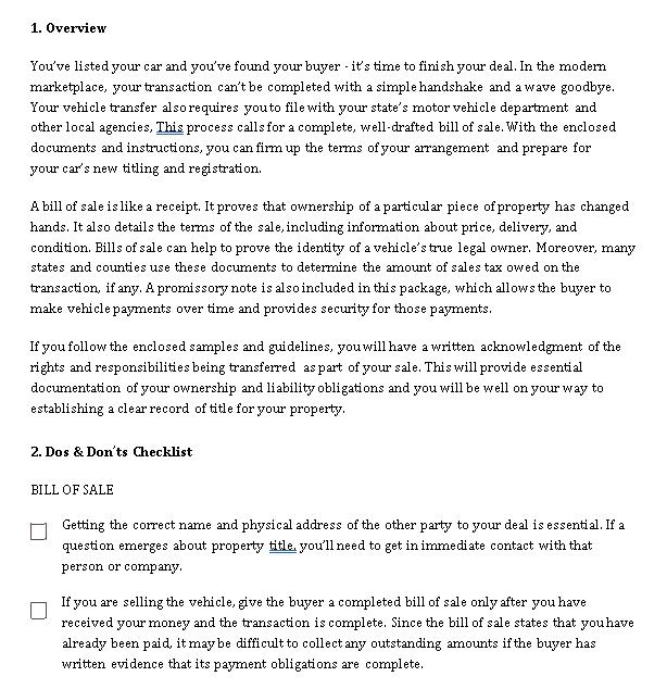 Sample Template auto loan promissory note