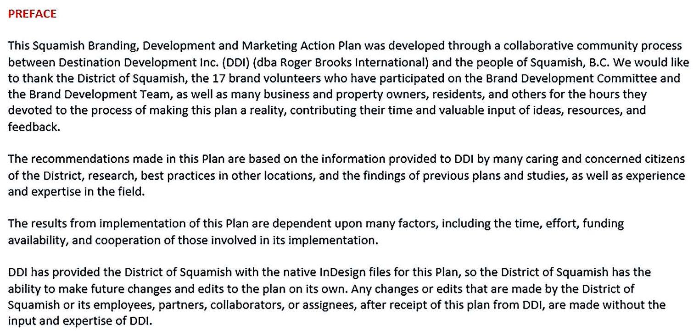 Squamish Branding Development Marketing Plan
