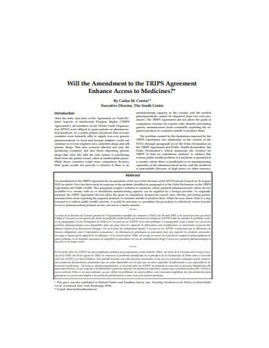 Standard Amendment Agreement Template