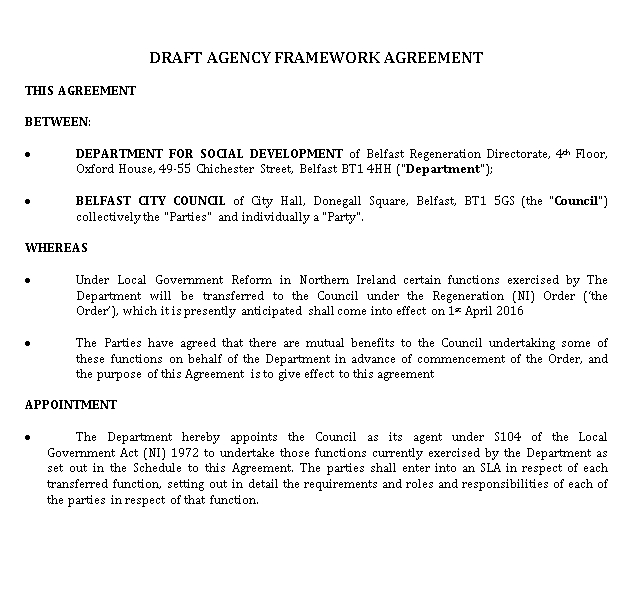Agency Agreement 2