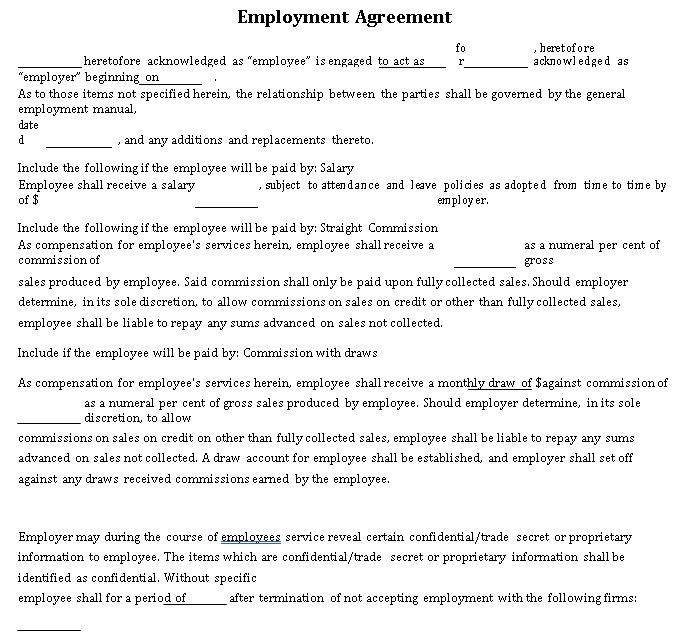 Employment Agreement12