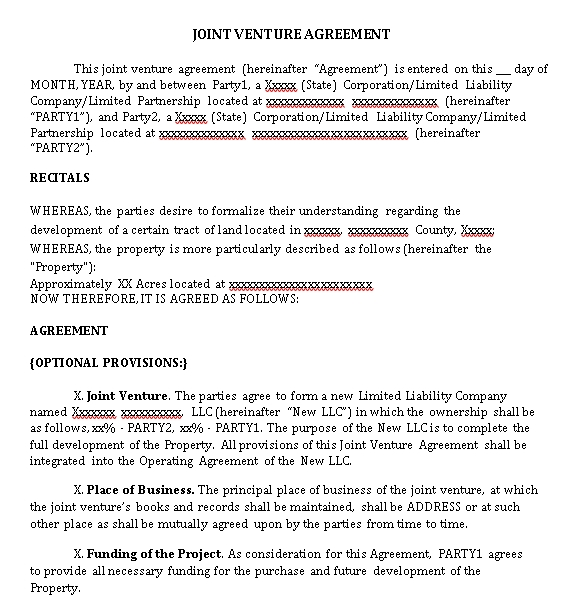 Joint.Venture.Agreement