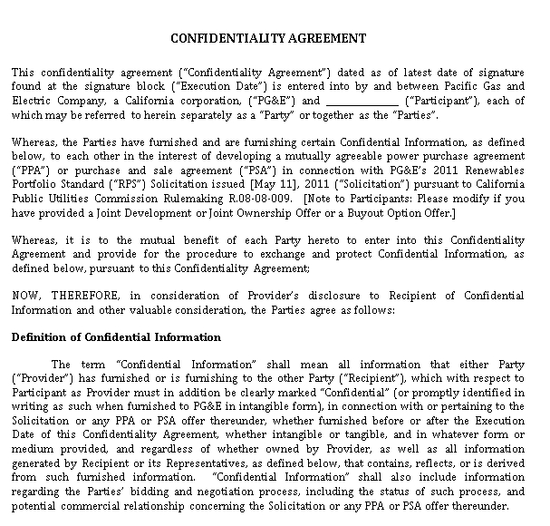 Legal Confidentiality Agreement for Juries