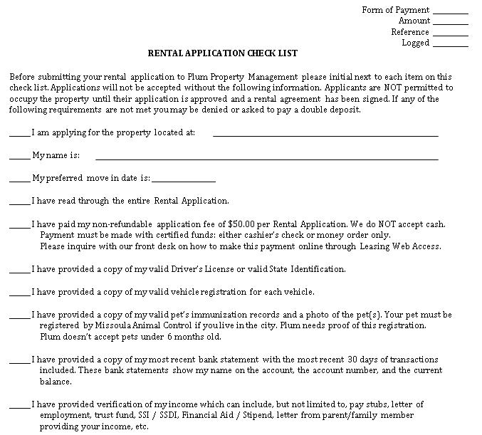 Rental Property Management Checklist