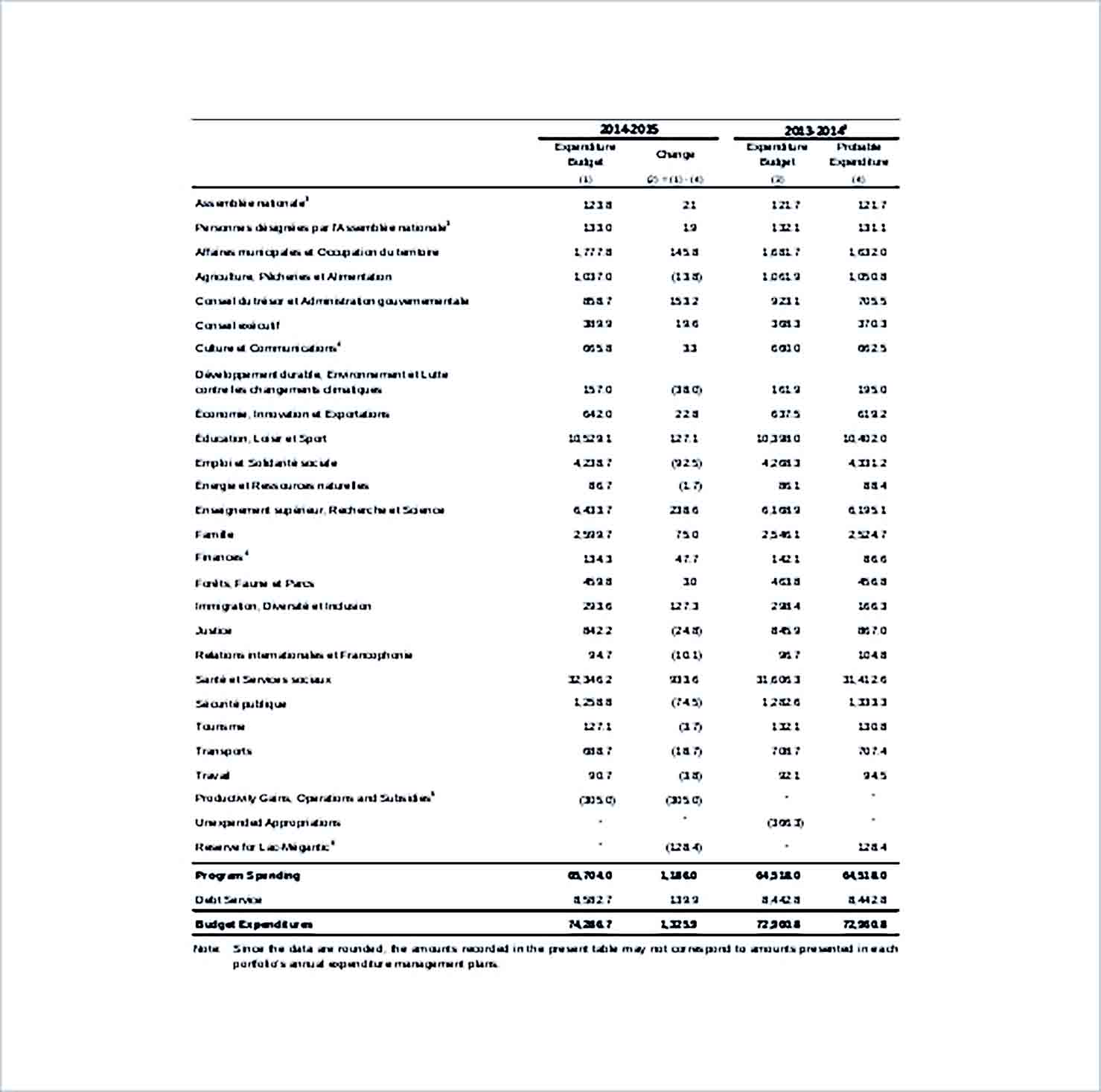 Sample Capital Expenditure Budget Format