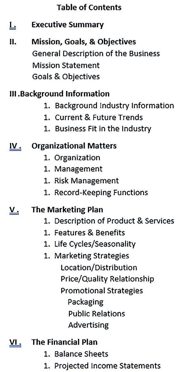 Sample Construction Business Plan Template