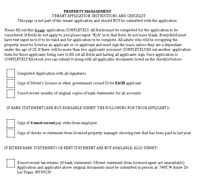 simple Property Management Checklist .pdf