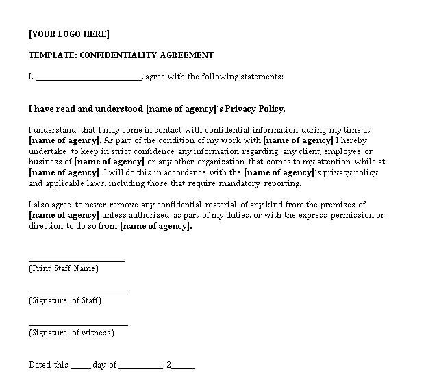 Basic Non Disclosure Agreement