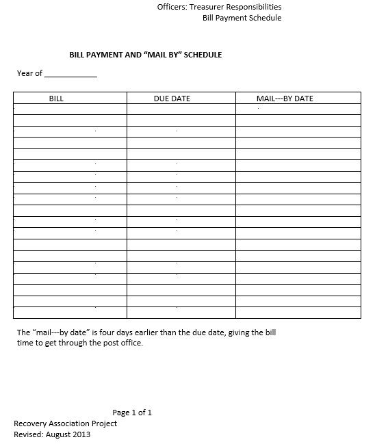 Bill Payment Sample