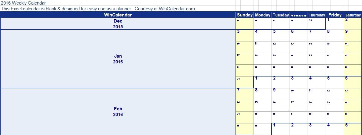 Blank Weekly Work Schedule Excel Download
