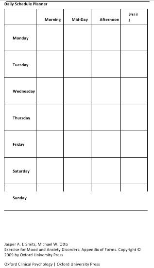 Daily Schedule Planner