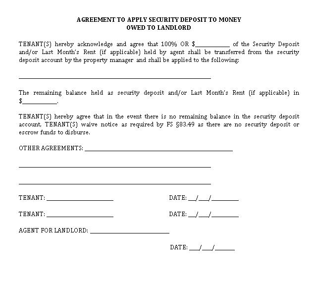 Money Owed Agreement Template