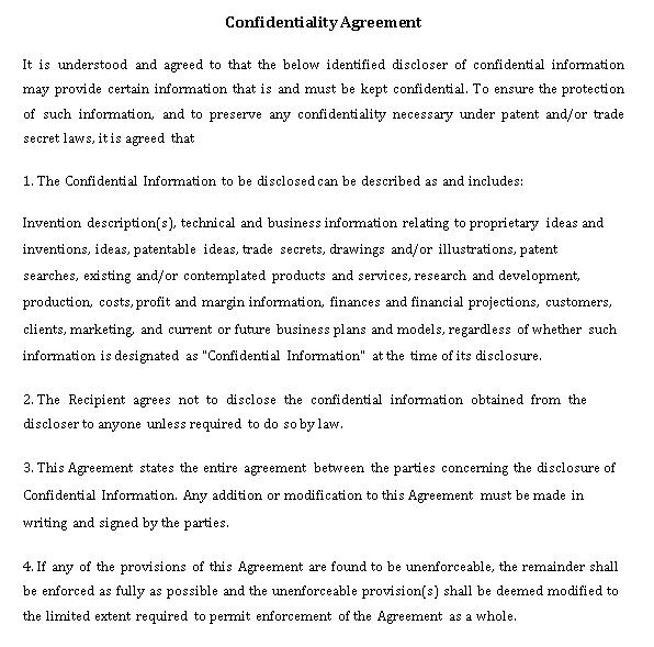 Patent Confidentiality