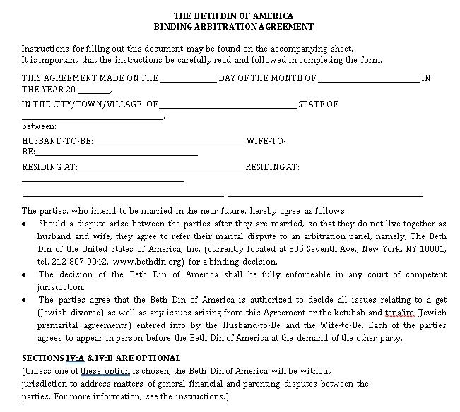 Pros Prenuptial Agreement PDF Format