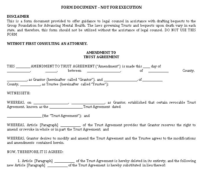 Trust Agreement 5