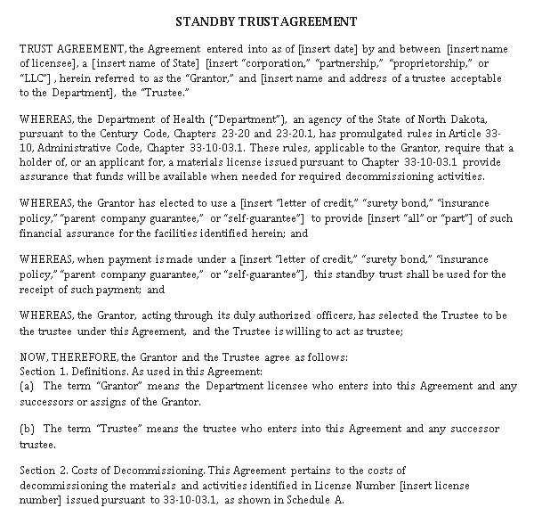 Trust Agreement 7